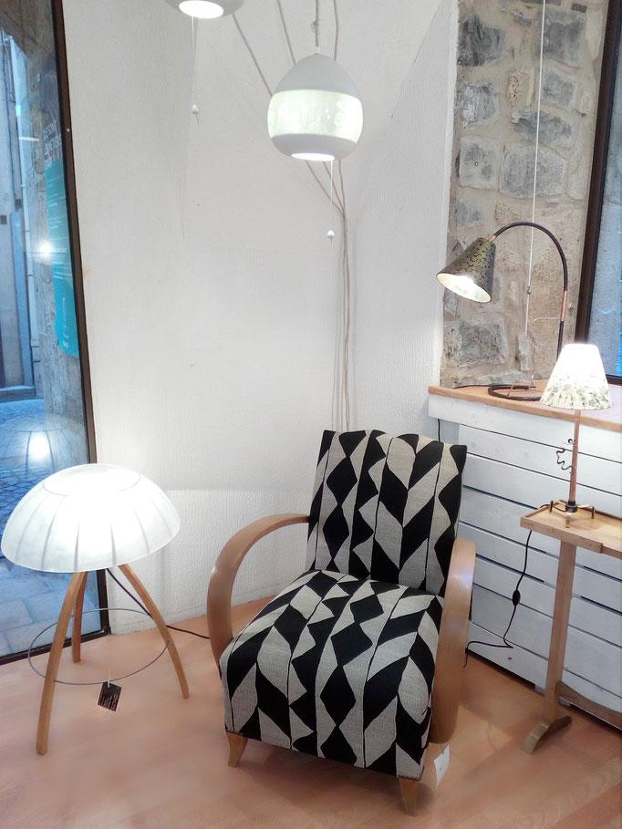 tapissier décorateur Millau Au Petit Crin