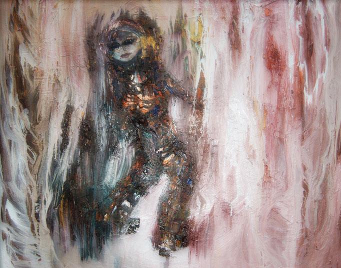 Liedfe, olieverf op canvas, ca 2004, €2000