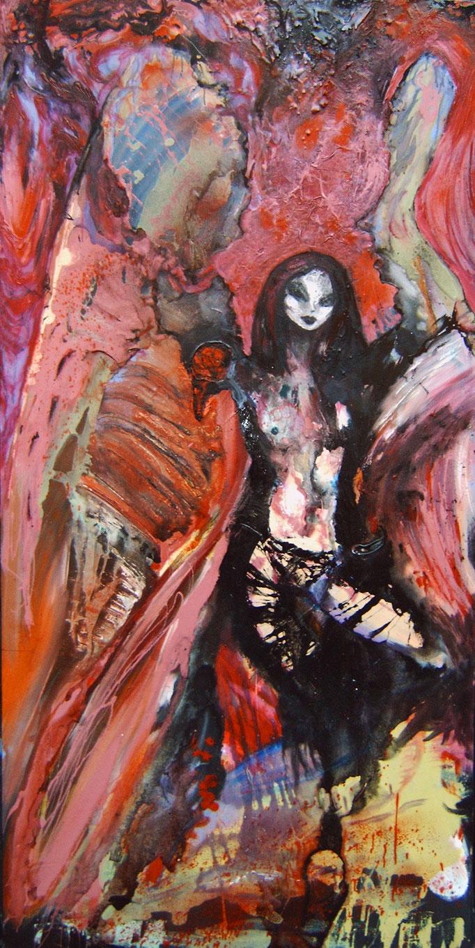 Muze, olieverf op canvas, ca 2005, €2000