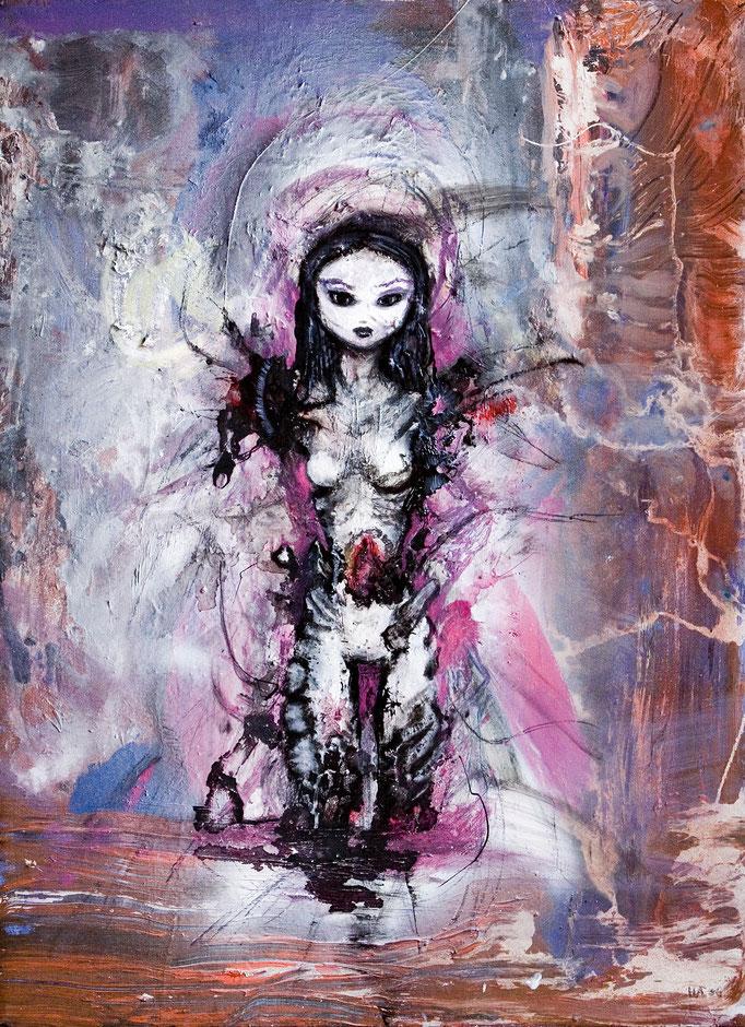 Kiltia Dreams, olieverf op canvas, ca 2006, niet te koop