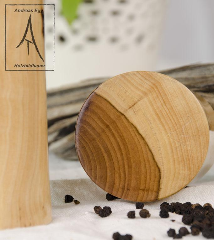 Pfeffermühle Salzmühle Apfelholz