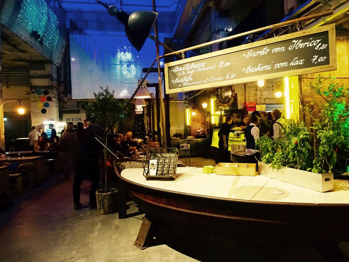 Französische Cuisine trifft auf Deutsche Industrie-Romantik. Funktioniert.