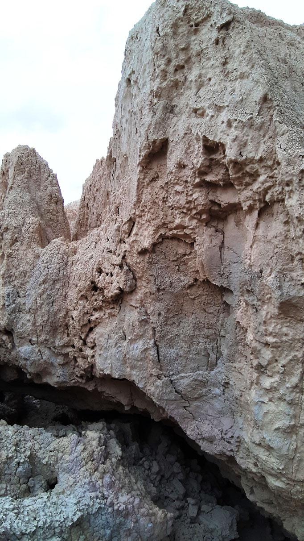 detalle de erosion en bardenas 10