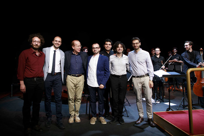 Borderline Concert,  with Ivan Fedele and Ensemble 900 conducted by Carlo Rizzari, Auditorium parco della musica, Rome