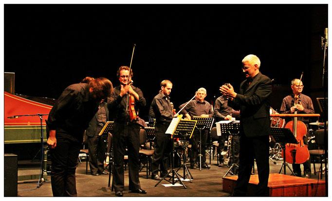 Slowness concert, Parco della musica , Rome with Tonino Battista end ECPM