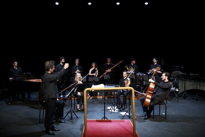 Borderline Concert,  Ensemble 900 conducted by Carlo Rizzari, Auditorium parco della musica, Rome