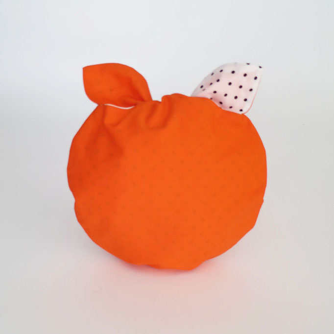 Poche à lingerie ronde Orange