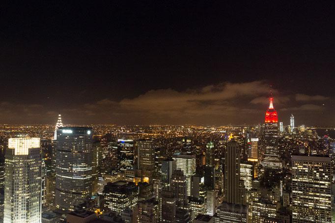 New York - Vue sur l'Empire State Building