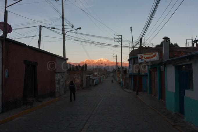 Pérou - Chivay au lever du jour