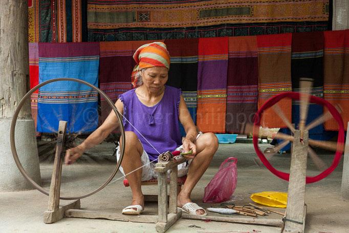 Vietnam - Mai Chau - Tissage