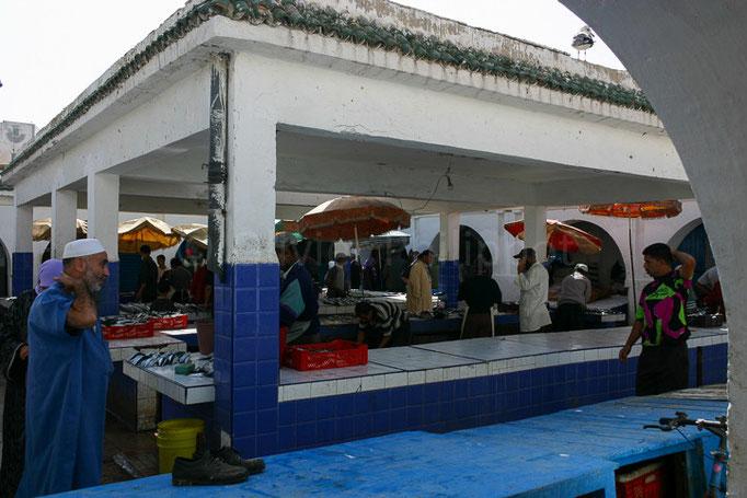 Maroc - Essaouira - Marché aux poissons