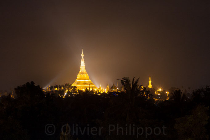 Birmanie - Rangoon - Shwedagon