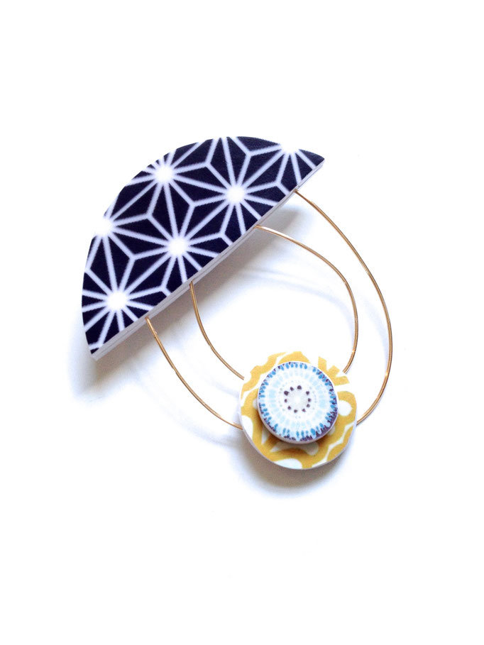 Umbrella Brooch 2017