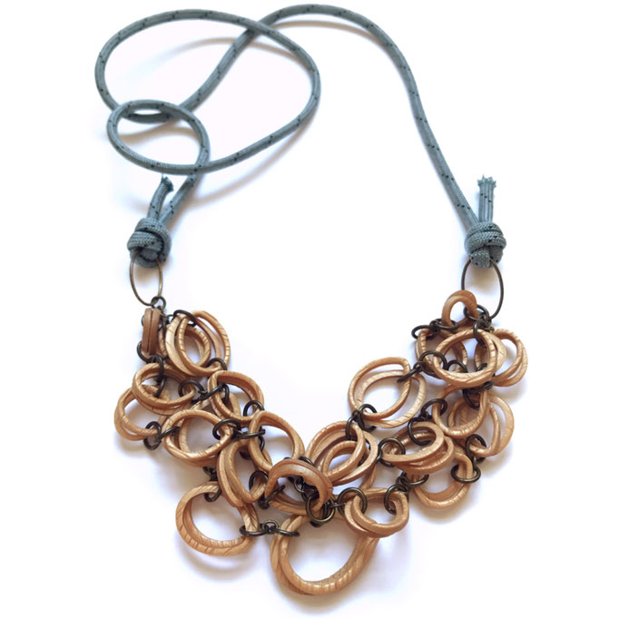 Send Rope Necklace - Sweet Wood Collection 2020