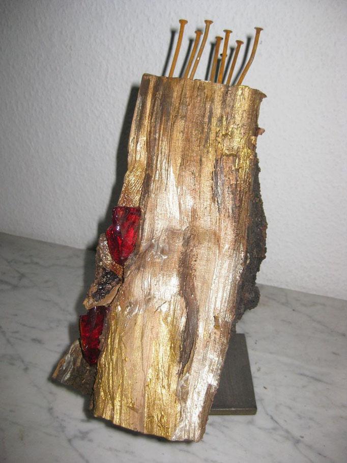 Aufbruch Holz/Metall/Glas