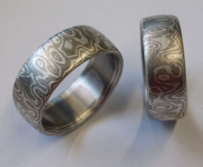 Silber-Palladium-Augenmuster