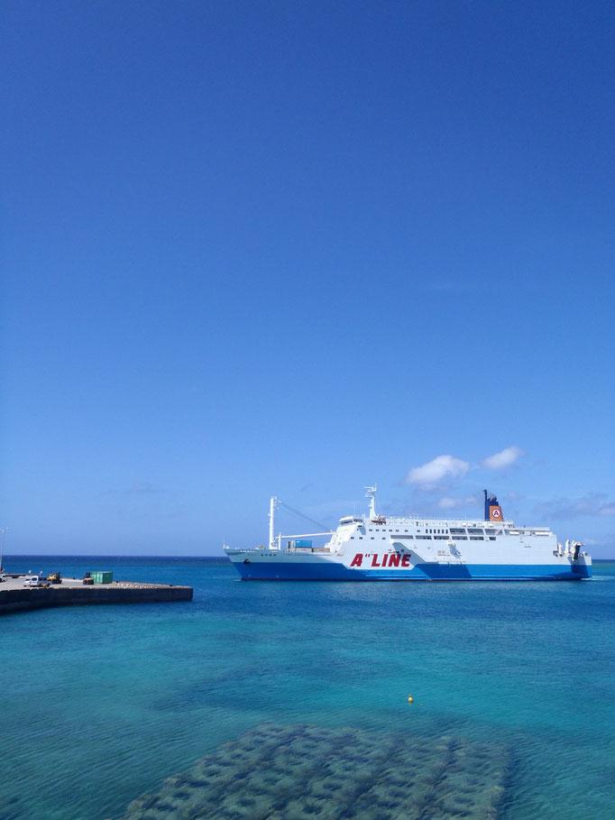沖縄から癒しの離島 与論島へフェリー スキューバダイビング