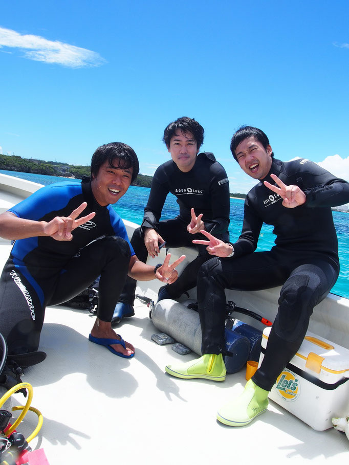 のんびりゆっくり体験ダイビング ヨロン島 あおいろクジラ