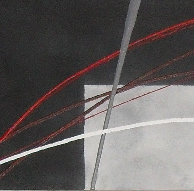 espace - zoom4, tableau abstrait. abstraction