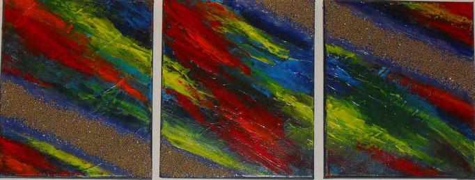voie lactée, vue face, tableau abstrait. abstraction