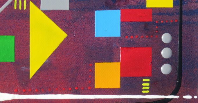 centrale. zoom5 - daluz galego tableau abstrait abstraction