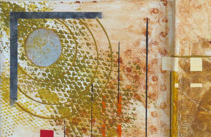 syncrétisme. vue de zoom2 - daluz galego tableau abstrait abstraction