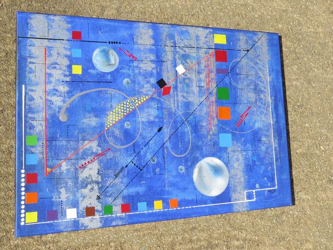 confins. vue de côté2 - daluz galego peinture tableau abstrait abstraction