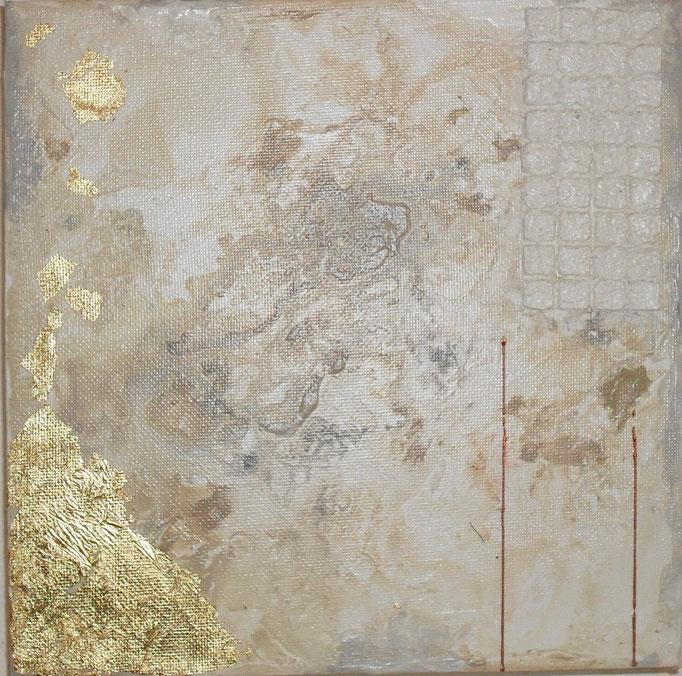 archipel carré N°2. tableau. abstrait. abstraction