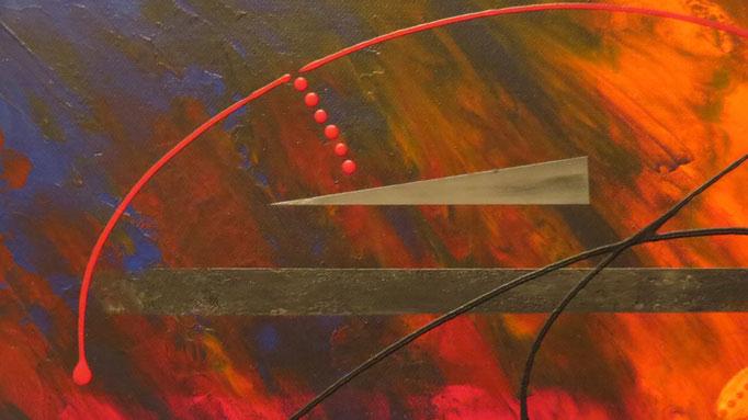 éruption. zoom4 - daluz galego tableau abstrait abstraction