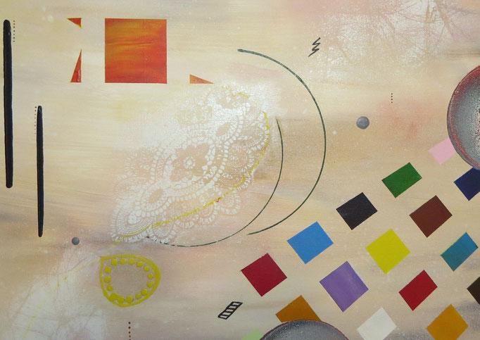 collusion zoom2 - daluz peinture abstraite abstraction