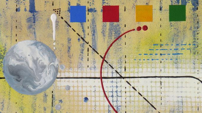 génération. zoom6 - daluz galego peinture tableau abstrait abstraction