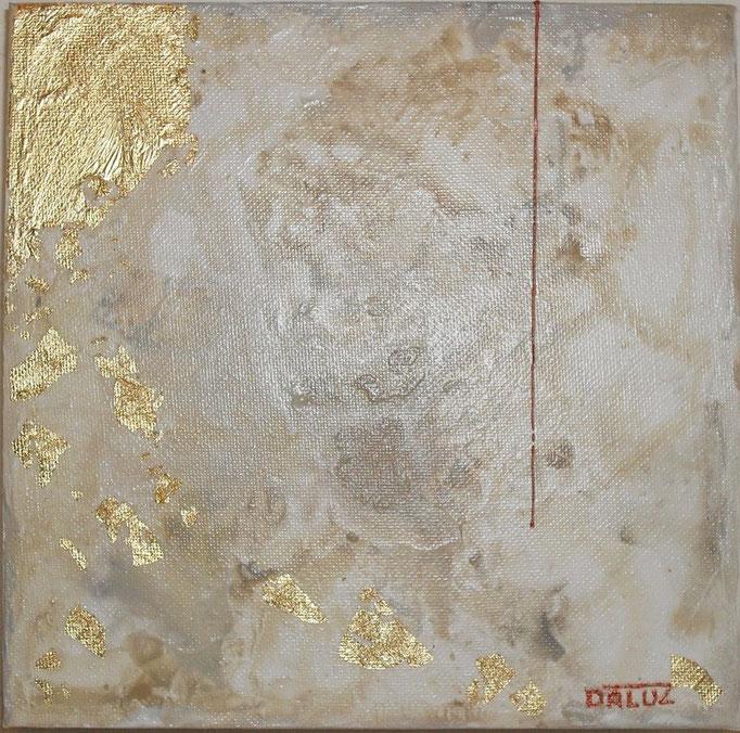 archipel carré N°4. tableau. abstrait. abstraction