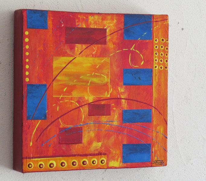 diode vue côté1. abstrait. abstraction