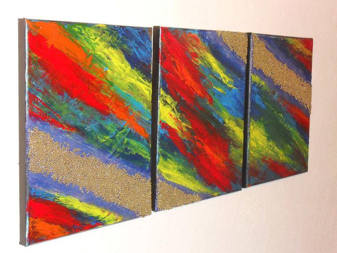 voie lactée, vue côté1, tableau abstrait. abstraction