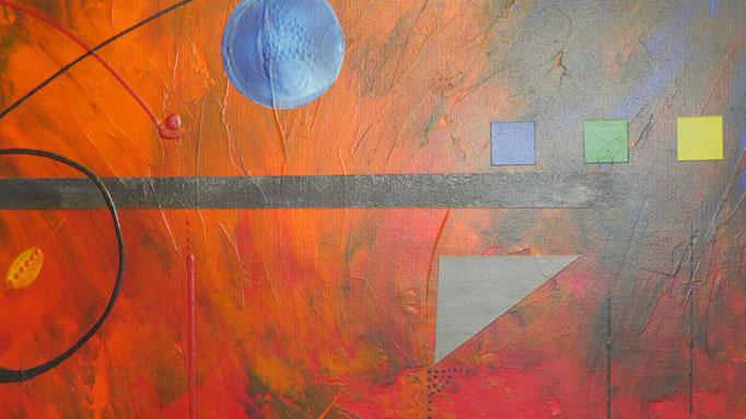 éruption. zoom6 - daluz galego tableau abstrait abstraction