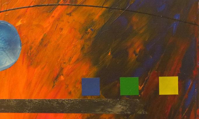 éruption. zoom2 - daluz galego tableau abstrait abstraction