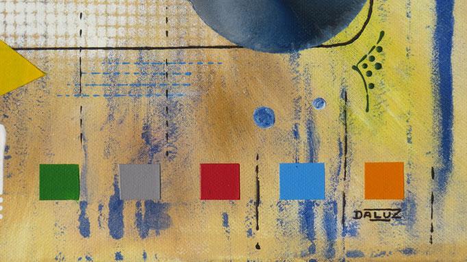 génération. zoom3 - daluz galego peinture tableau abstrait abstraction