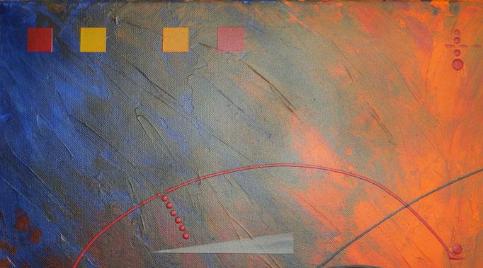 éruption. zoom5 - daluz galego tableau abstrait abstraction