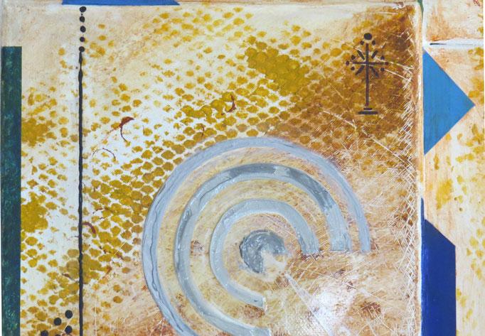 syncrétisme. vue de zoom4 - daluz galego tableau abstrait abstraction
