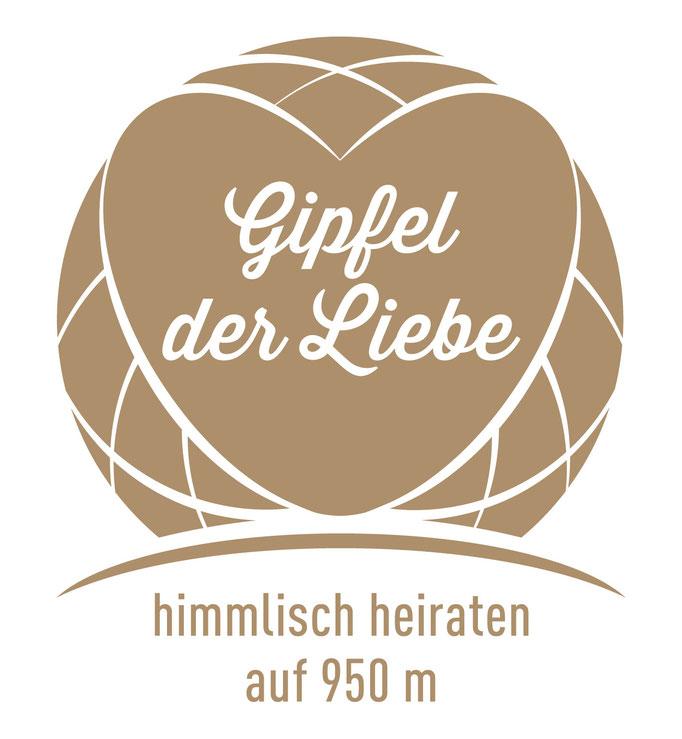Gipfel der Liebe, Hessens höchste Möglichkeit zu heiraten.