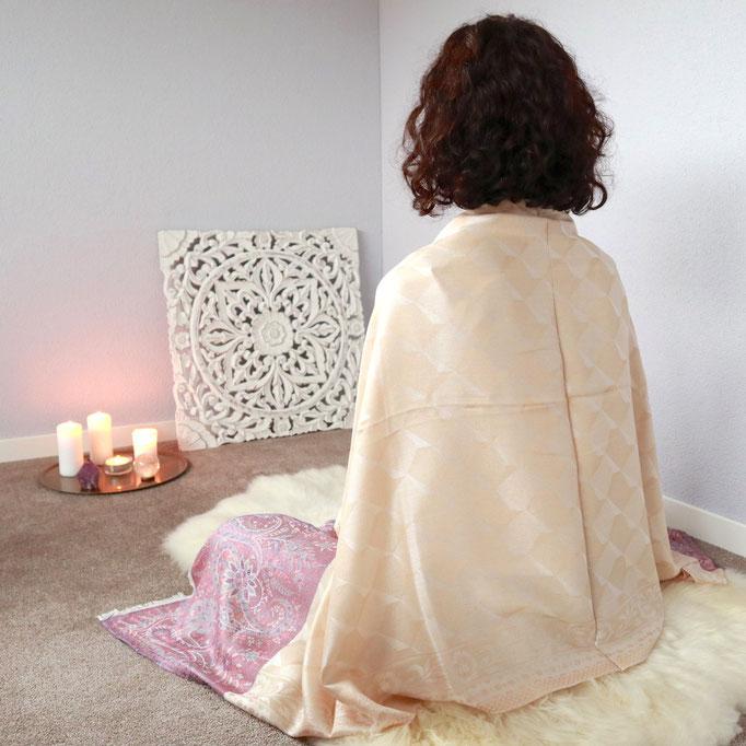 Meditationstuch, Yoga Tuch, Schal