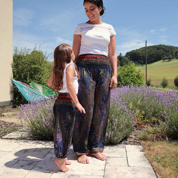 Yoga Boho Haremshosen für Damen und Kinder