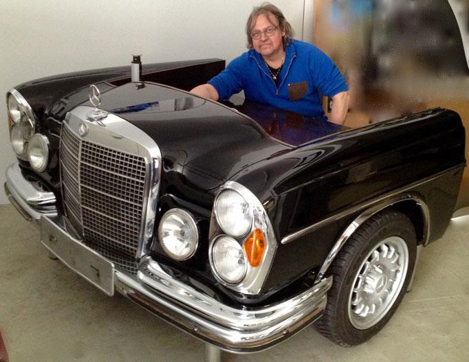 Automöbel - Mercedes W108 Schreibtisch