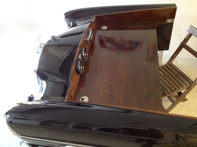 Automöbel - Oldtimer Schreibtisch