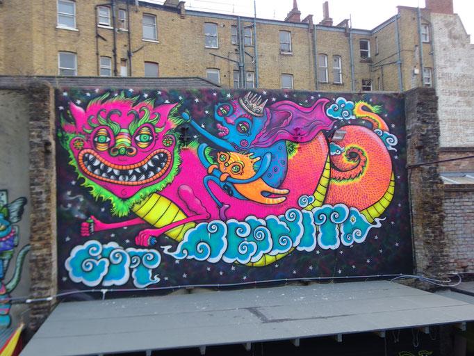 Cosmic Dragon, Brixton Food Court, Brixton, London, 2016