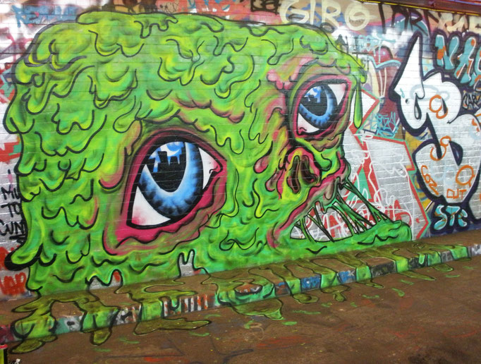 The Blob, Leake Street, London, 2009