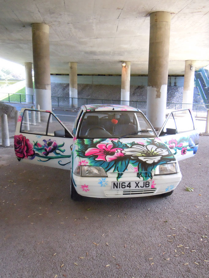 Maryke's Car, Bristol, 2011