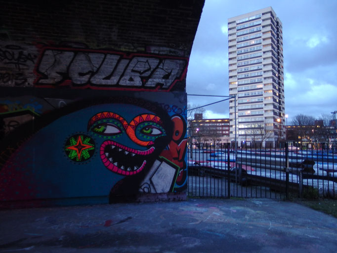 Laughing Creature, Mile End, london, 2014
