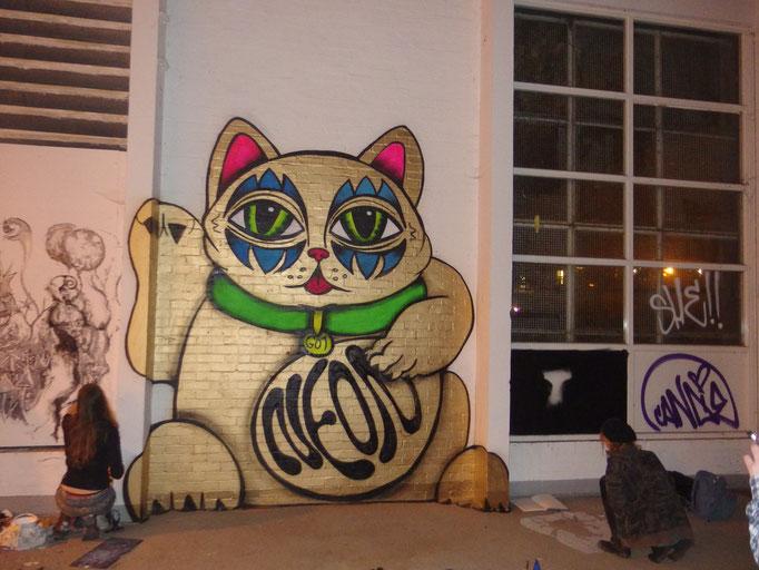 Lucky Cat, London, 2014