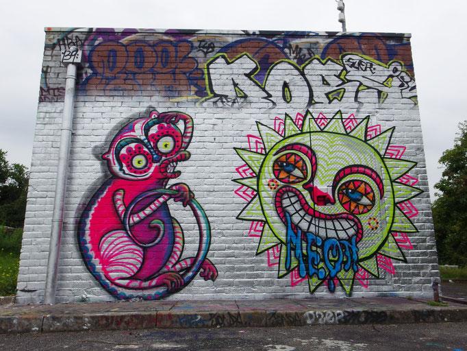 Monkey and the Sun, Nunhead, London, 2014